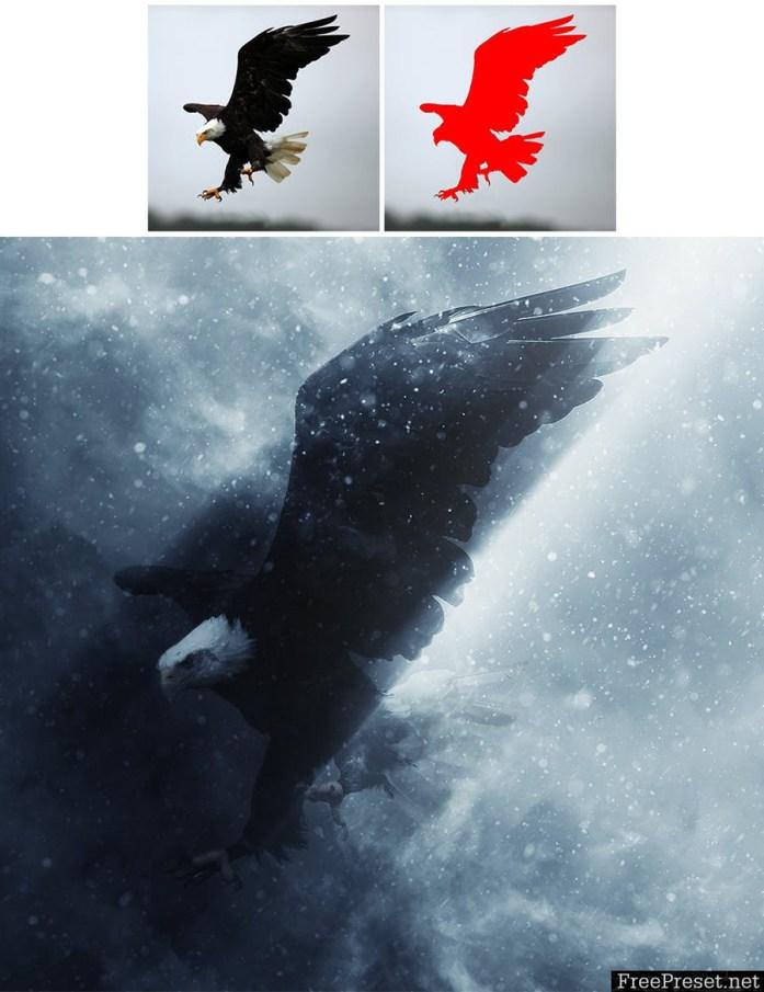 Blizzard Photoshop Action 7FSLJB