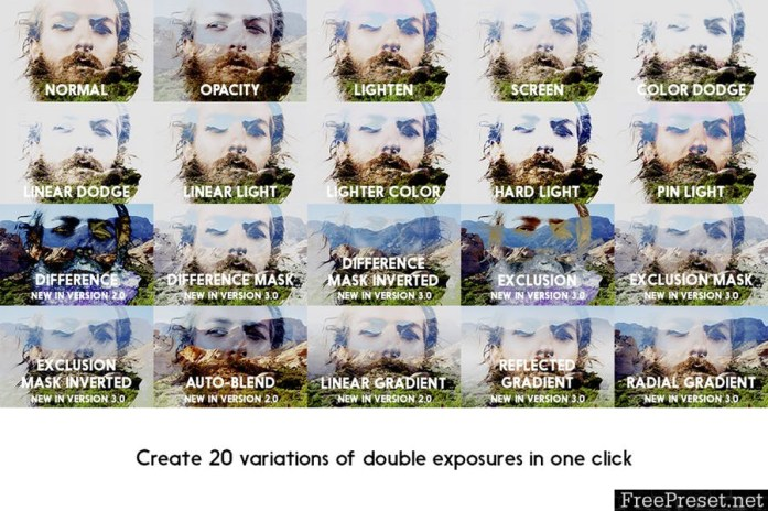 Double Exposure Kit RTB3HS