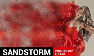 Dustum - Sandstorm Photoshop Action TKAH4P
