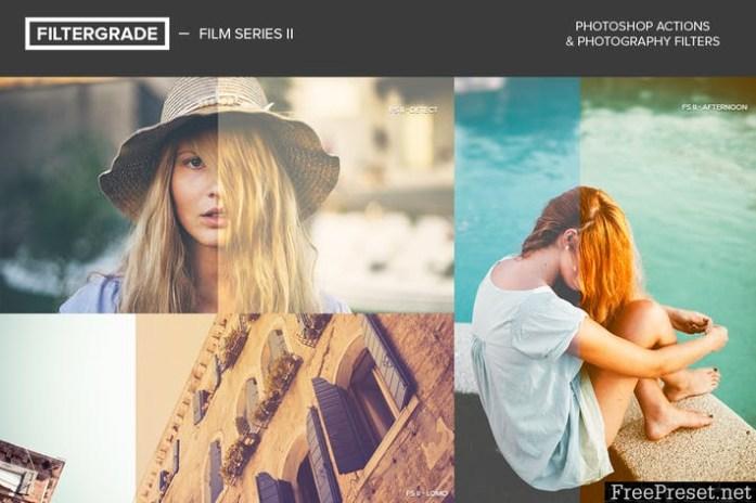 FilterGrade Film Series II Photoshop Actions 6JMFHA