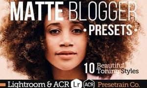 Matte Blogger Presets for Lightroom & ACR