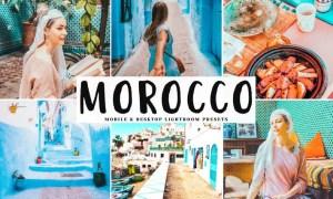 Morocco Mobile & Desktop Lightroom Presets