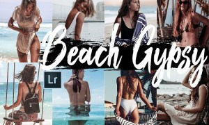 Neo Beach Gypsy Theme Desktop Lightroom Presets
