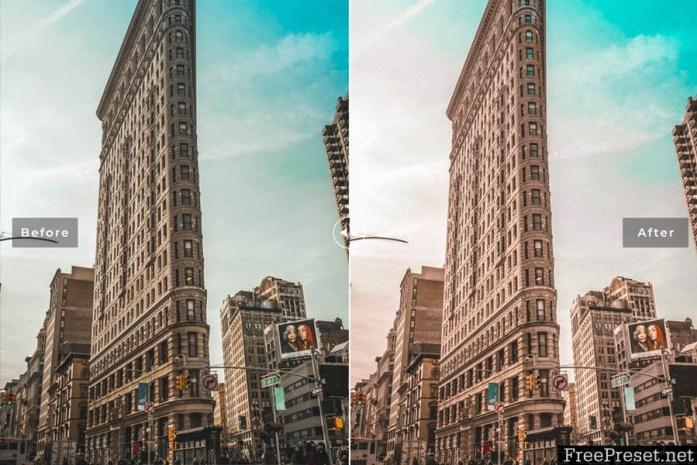 New York Mobile & Desktop Lightroom Presets