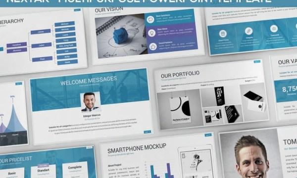 Nextar - Multipurpose Powerpoint Template N5HPSV - PPTX, PPT