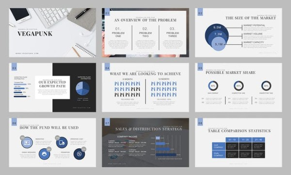 Vegapunk : Pitch Deck Powerpoint Template HESA2L - PPTX