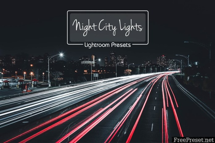 10 Lr Presets Night City Lights 2185236