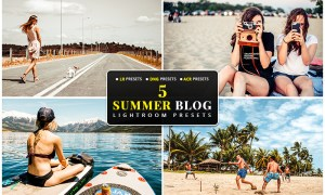5 Summer Blog Lightroom, Mobile DNG & Camera RAW Presets