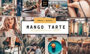 8 Mango Lightroom Presets Bundle 3865420