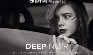 Deep Noir B&W Lightroom Presets 2043083