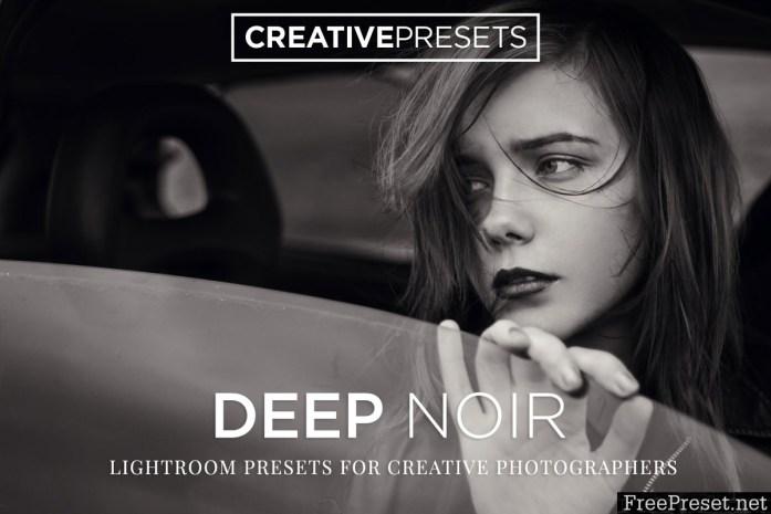 Deep Noir B&W Lightroom Presets 2043083