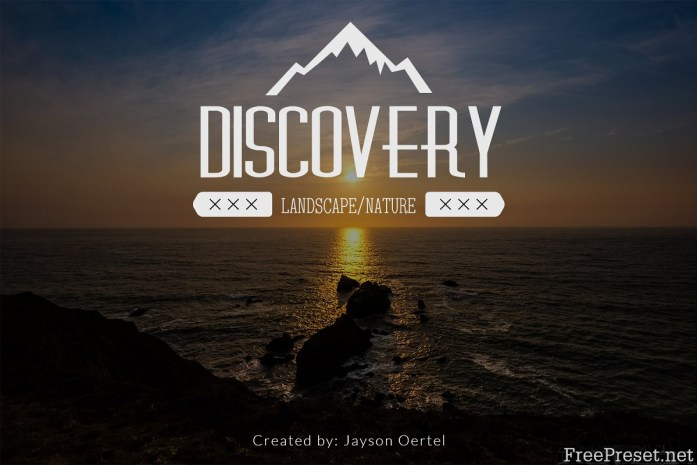 Discovery vol 1 - Lightroom Presets 1133945