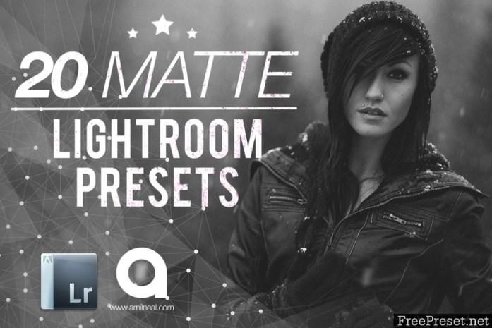 Matte Premium Lightroom Presets 199417