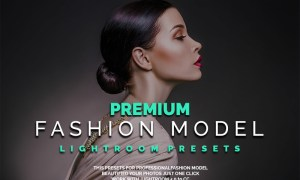 Premium Fashion Model Lightroom Presets