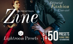 Zine - 50 Fashion Lightroom Presets 978403
