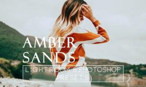 1 Orange & Amber Lr & Ps Preset 698076