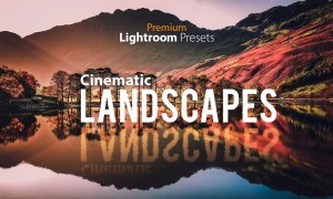 Cinematic Landscape Lightroom Preset 502542