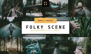 5 Folk Moody Lightroom Presets Pack 4054593