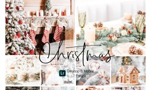 11 Christmas Lightroom Presets 4328594