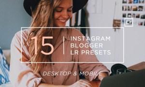 15 Instagram Blogger Lightroom Presets + Mobile