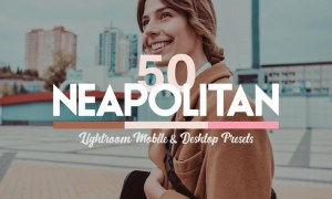 50 Neapolitan Lightroom Presets LUTs