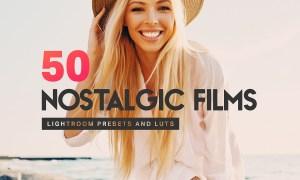 50 Nostalgic Films Lightroom Presets 4306107