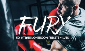 Fury - 50 Intense Lightroom Presets