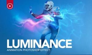 Gif Animated Luminance Photoshop Action