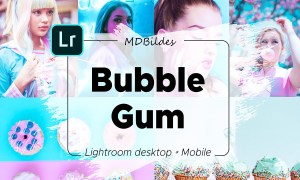 Lightroom Preset, Bubble Gum, Mobile 4415304