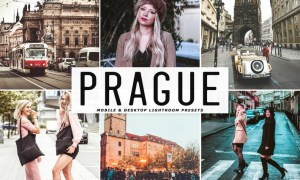 Prague Mobile & Desktop Lightroom Presets