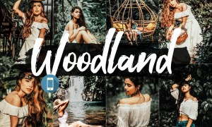 05 Woodland Mobile Lightroom Presets 2542471