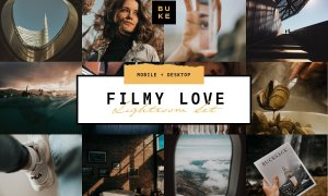 5 Film Lightroom Presets Bundle 3861766