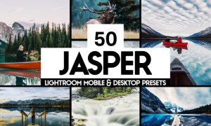 50 Jasper Lightroom Presets and LUTs