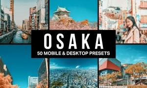 50 Osaka Lightroom Presets & LUTs