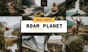 6 Roam Planet Lightroom Bundle 4375966