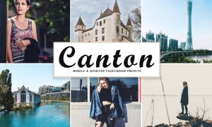 Canton Mobile & Desktop Lightroom Presets