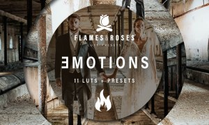 Flames and Roses - Emotions LUTs