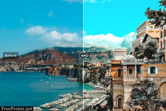 Naples Mobile & Desktop Lightroom Presets