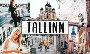 Tallinn Mobile & Desktop Lightroom Presets