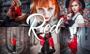 10 Lightroom Presets - Red 3814161