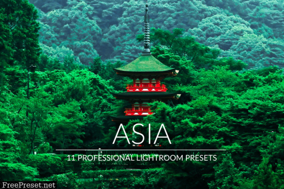 Asia Lr Presets