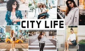 City Life Mobile & Desktop Lightroom Presets