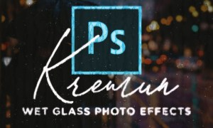 Kremun - Wet Glass Photo Effect