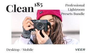 185 Clean Presets Lightroom Bundle 4505081