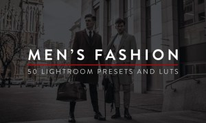 50 Men's Fashion Lightroom Presets and LUTs