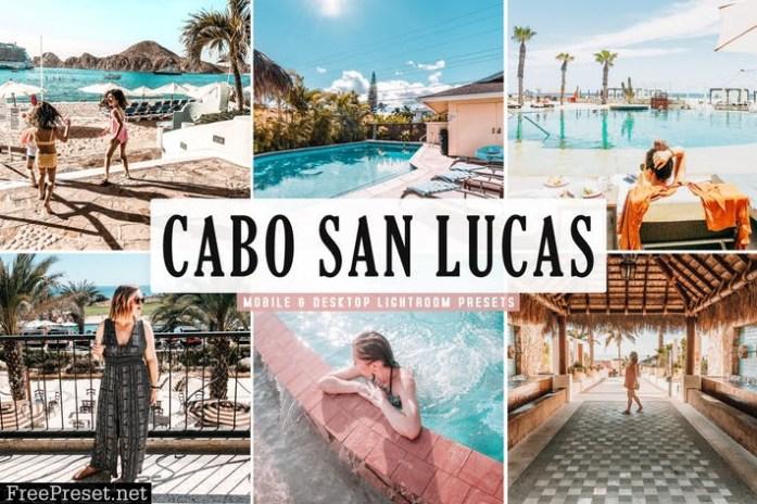 Cabo San Lucas Mobile & Desktop Lightroom Presets