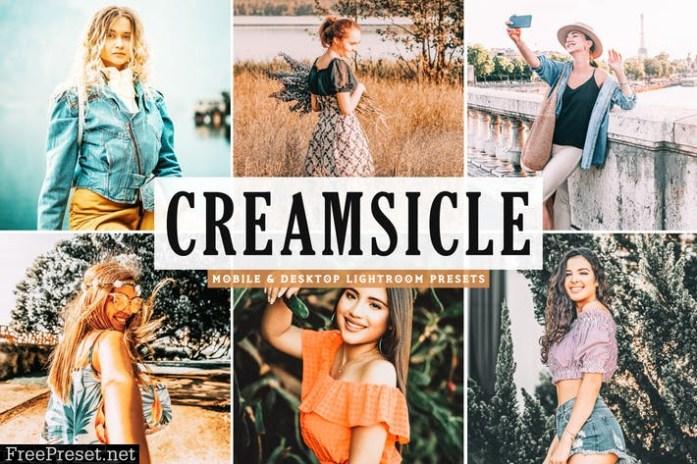 Creamsicle Mobile & Desktop Lightroom Presets