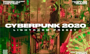 CYBERPUNK 2020 FILM LIGHTROOM PRESET 4559642