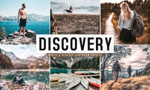 Discovery Lightroom Presets Pack 4659701