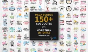 Mega Bundle 150 Quotes